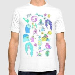Cosmic Characters T-shirt