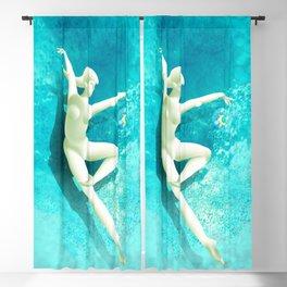 Water Dance Blackout Curtain
