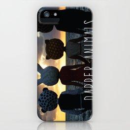 Dapper Animals Sunset iPhone Case