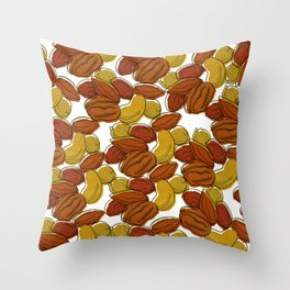 This is nuts Throw Pillow