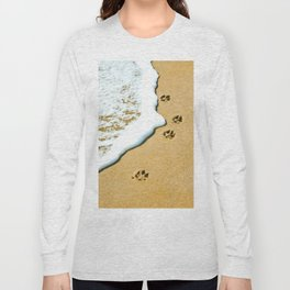 Paw Prints Long Sleeve T-shirt