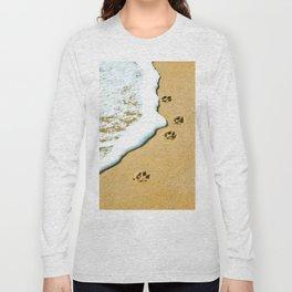 Paw Prints Long Sleeve T-shirt