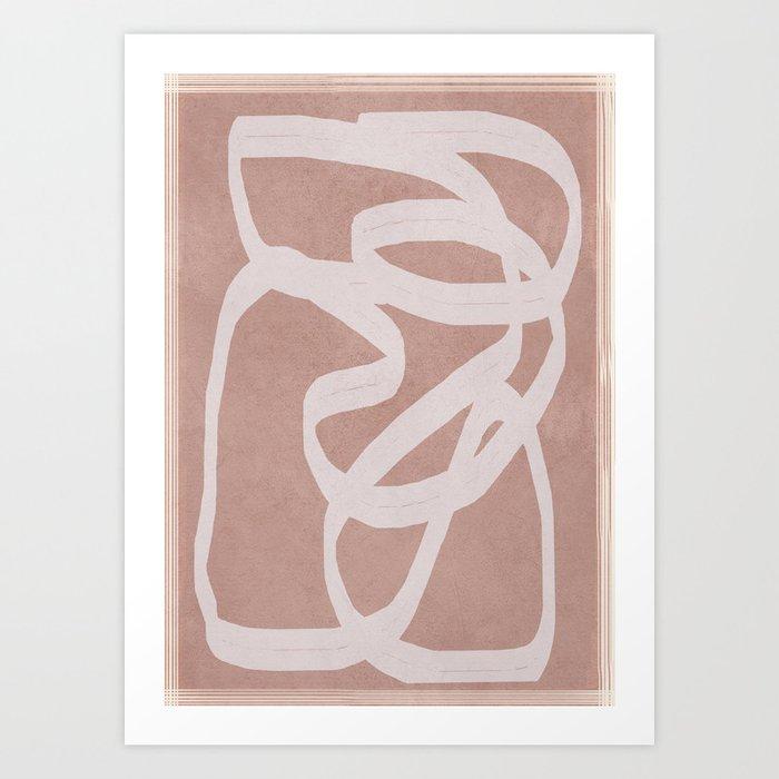 Abstract Flow I Art Print