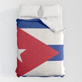 Cuban Flag Comforters