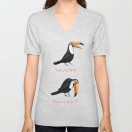 Toucan Toucan't Unisex V-Neck