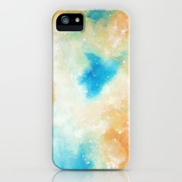 Orange Blossom Galaxy iPhone Case