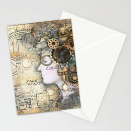 Steampunk Artist Stationery Cards