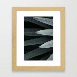 LINEAR NATURE Framed Art Print