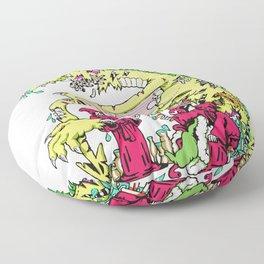 Alchemical Dragon Rot Floor Pillow