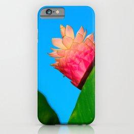 Jungle Queen Flower iPhone Case