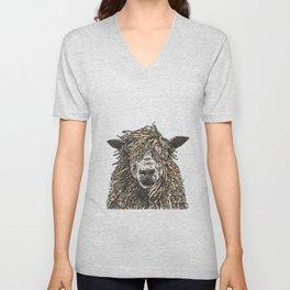 Cotswold Sheep Unisex V-Neck