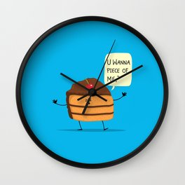 Trouble Baker Wall Clock