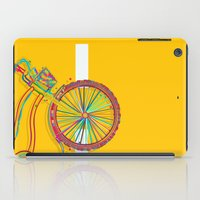 bike iPad Cases featuring Bike by Rceeh