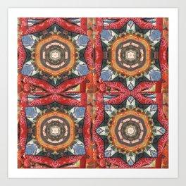 Bouddha Mandala Art Print