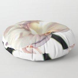 White Orchids Floor Pillow
