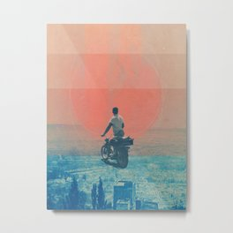 Looking right into the Eye of the Summer Metal Print