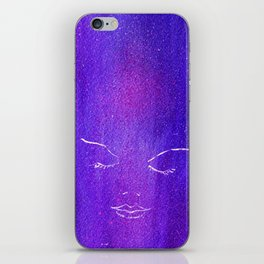 Mysterious Woman iPhone Skin