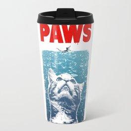cat meow paws Travel Mug