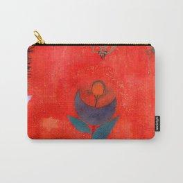 "Paul Klee ""Flower Myth"" (1918) Carry-All Pouch"