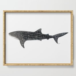 Whale shark Rhincodon typus Serving Tray