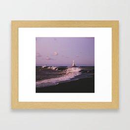 Angry Lake Superior | Upper Peninsula, Michigan | John Hill Photography Framed Art Print