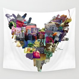 HEART MISSISSIPPI Wall Tapestry