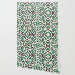 Bohemian Boho Ornament Pattern Wallpaper
