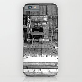 One Room School House iPhone Case