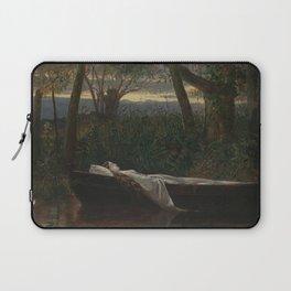 Walter Crane - The Lady of Shalott Laptop Sleeve