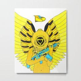 Heartbreaker: Nectar Metal Print