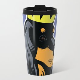 Black and tan cocker spaniel head Travel Mug