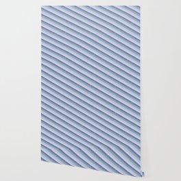 Pastel Diagonal Stripe Pattern Wallpaper