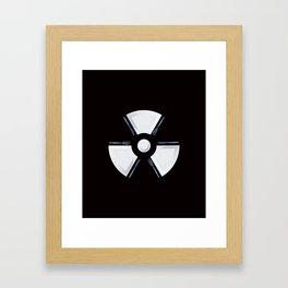 Polluted - Dinner Time Symbol Framed Art Print