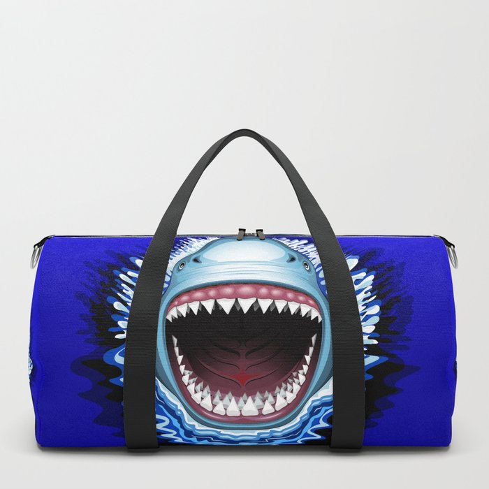 Shark Jaws Attack Duffle Bag