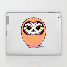 Pink Fukuro Daruma Laptop & iPad Skin