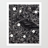 gothic Art Prints featuring Gothic by JJacksArt