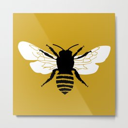 Bee world Metal Print
