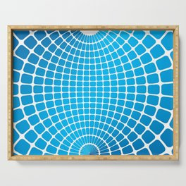SPHERE BLEUE Serving Tray