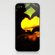 Heart Hands Forever iPhone & iPod Skin