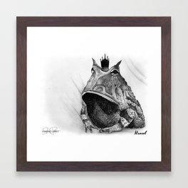 HANSEL Frog Prince Print Framed Art Print