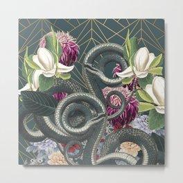 Tangled snakes Metal Print