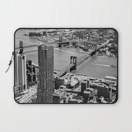 Brooklyn Bridge View - New York City Laptop Sleeve