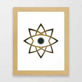 Evil Eye Framed Art Print