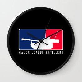 Field Artillery: M109A6 Paladin Wall Clock
