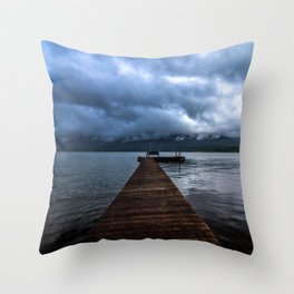 Lake Quinault Throw Pillow