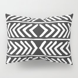 Tribal Print B&W- 04 Pillow Sham