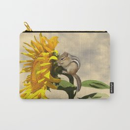 Waiting for the Sunflower Carry-All Pouch