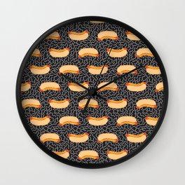 Hot Dog Dance Wall Clock