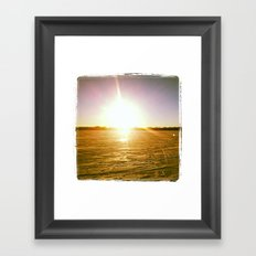 In the Shade of All Things, You are the Star Framed Art Print