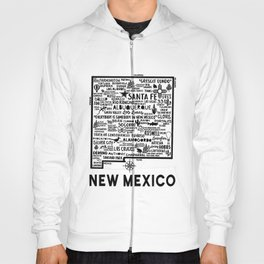 New Mexico Map  Hoody